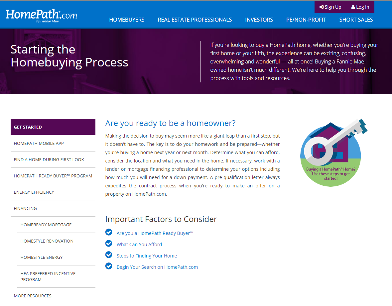 Homepath For Buyers